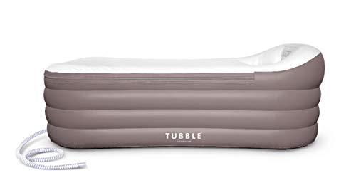 Tubble® Aufblasbare Badewanne für Erwachsenen – Neue verbesserte Version, größe 255 Liter, neues Model & viel stärkerer Reißverschluss