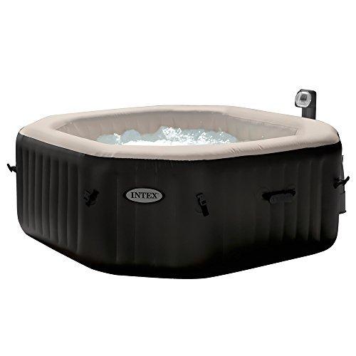 Intex Pure Spa 6Sitzer, Jet und Salzwassersystem, Bubble XXL, achteckig