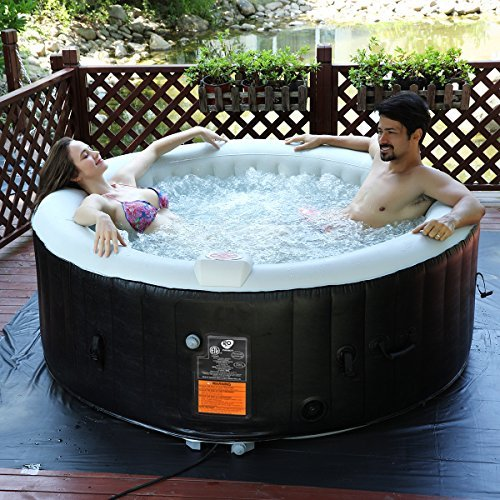 costway whirlpool aufblasbar massage spa pool √aufblasbar √heizfunktion √4 personen √in outdoor √komplettset√o180cm√rund - COSTWAY Whirlpool Aufblasbar, Massage Spa Pool √aufblasbar √Heizfunktion √4 Personen √In-Outdoor √Komplettset√Ø180cm√rund
