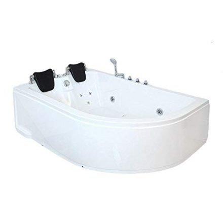 Whirlpool-Badewanne - und der Blubberspass kann beginnen