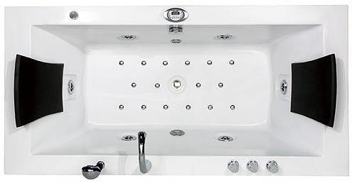 Whirlpool 2-Personen Villa Eugenie mit Radio LED, Wasser und Luftsystem, Heizung etc. Vollausstattung Aktion